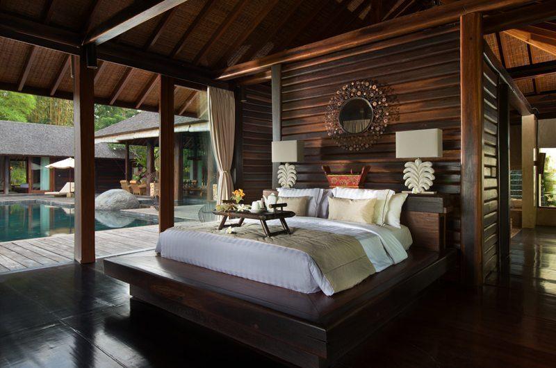 Villa Kamaniiya Bedroom with Pool View | Ubud, Bali