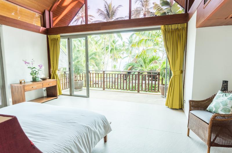 Baan Ora Chon Bedroom View | Lipa Noi, Koh Samui