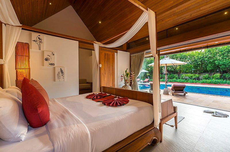 Baan Puri Bedroom Area with Pool View | Koh Samui, Thailand
