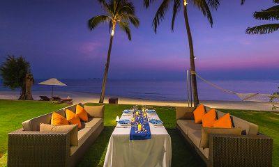 Baan Puri Outdoor Dining Table | Koh Samui, Thailand