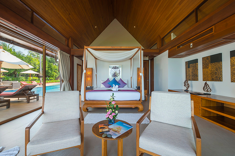 Baan Puri Bedroom with Seating | Koh Samui, Thailand