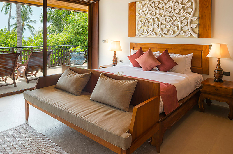 Baan Puri Bedroom with Balcony | Koh Samui, Thailand