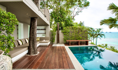 The Headland Villa 2 Outdoor Shower | Taling Ngam, Koh Samui