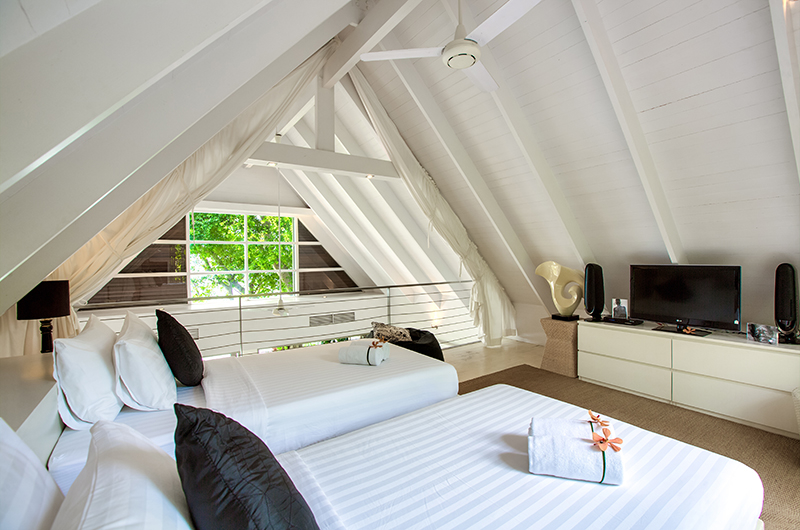 The Headland Villa 2 Twin Bedroom with TV | Taling Ngam, Koh Samui