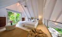 The Headland Villa 2 Guest Twin Bedroom | Taling Ngam, Koh Samui