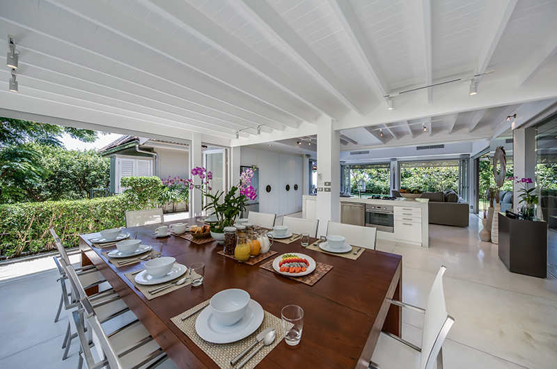 The Headland Villa 5 Wooden Dining Table | Taling Ngam, Koh Samui