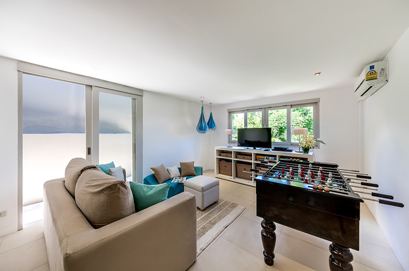 The Headland Villa 5 Game Room | Taling Ngam, Koh Samui