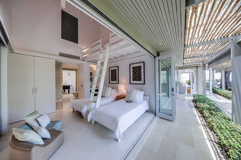 The Headland Villa 5 Two Singles with Mezzanine Level | Taling Ngam, Koh Samui