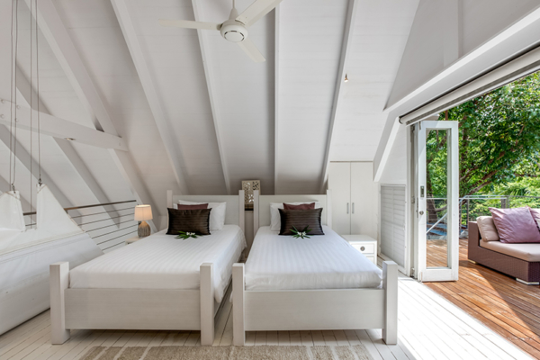 The Headland Villa 5 Twin Bedroom with Balcony | Taling Ngam, Koh Samui