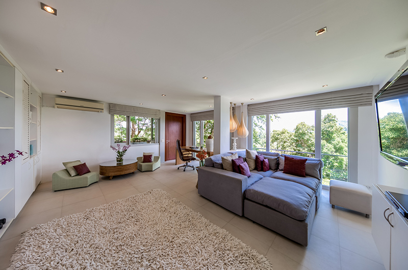 The Headland Villa 5 Business Room | Taling Ngam, Koh Samui