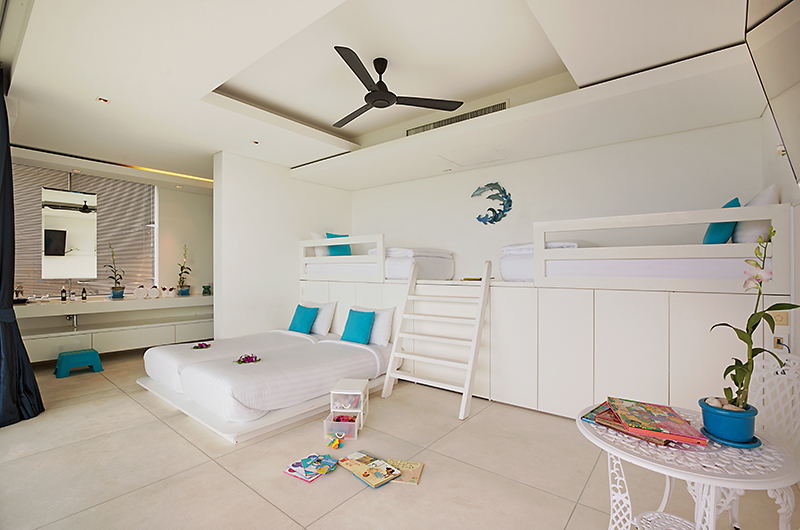 Villa Blue View Kids Bedroom | Bang Por, Koh Samui