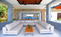 Villa Blue View Open Plan Seating | Bang Por, Koh Samui
