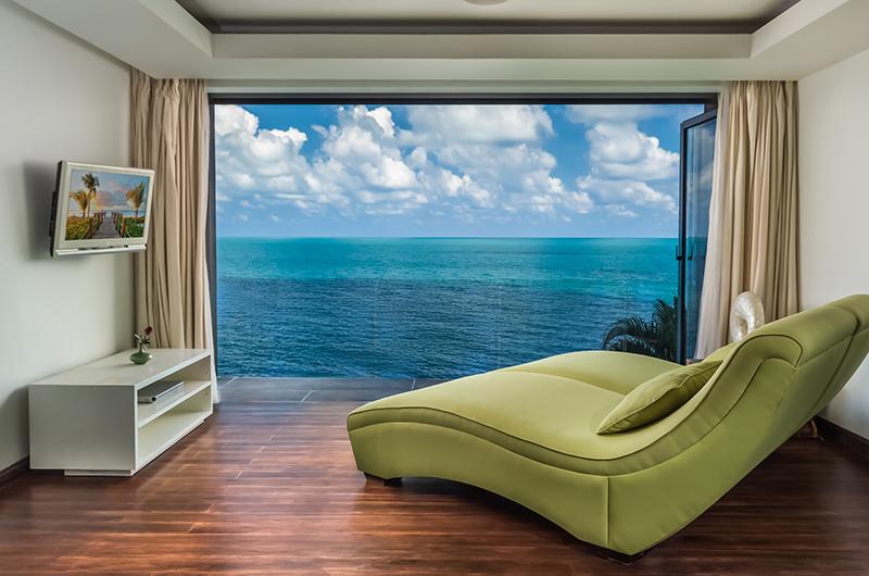Villa Manola Master Bedroom Seating | Koh Samui, Thailand