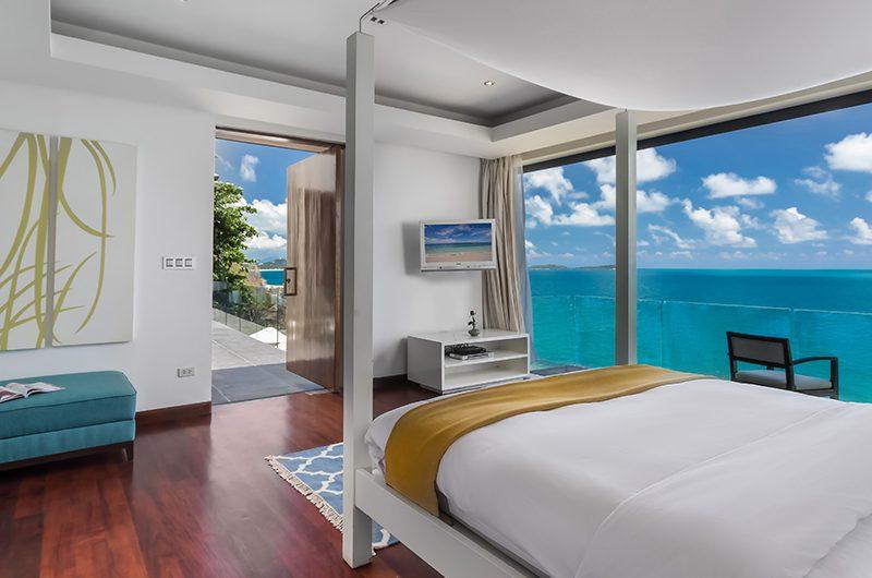 Villa Manola Bedroom Two with Sea View | Koh Samui, Thailand