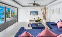 Villa Manola Living Area with TV | Koh Samui, Thailand