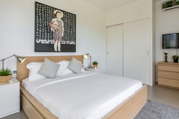 Villa Mullion Cove Bedroom with Lamps | Bophut, Koh Samui