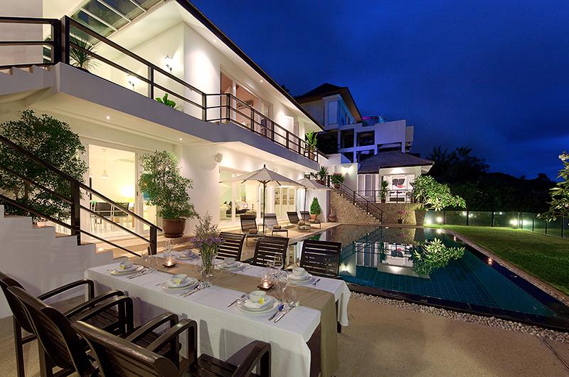 Villa Mullion Cove Romantic Dining Table | Bophut, Koh Samui