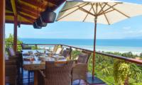 Villa Sila Varee Dining Area   Laem Set, Koh Samui