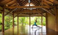 Villa Sila Varee Yoga Area   Laem Set, Koh Samui