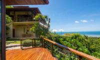 Villa Sila Varee Balcony   Laem Set, Koh Samui