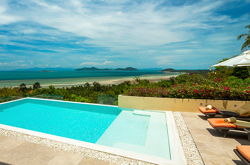 Villa Sila Varee Swimming Pool Side Area | Laem Set, Koh Samui