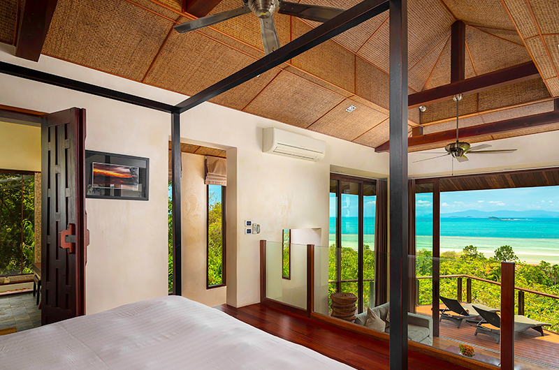 Villa Sila Varee Bedroom with Living Room | Laem Set, Koh Samui