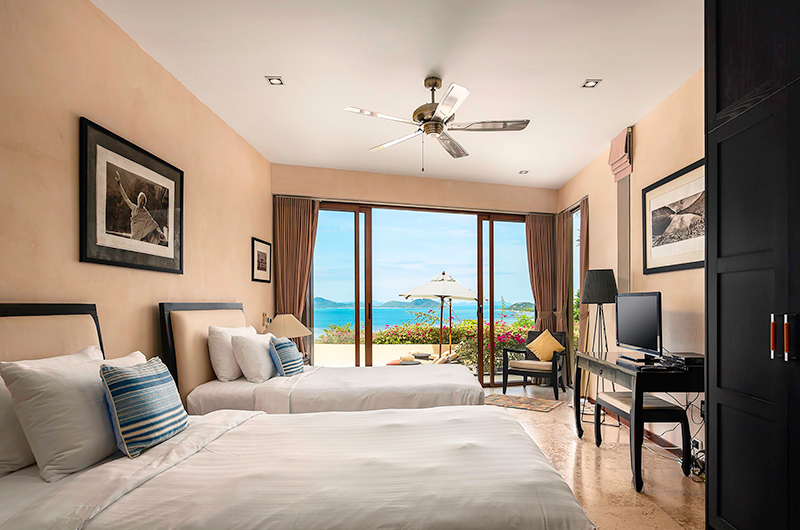 Villa Sila Varee Twin Bedroom | Laem Set, Koh Samui