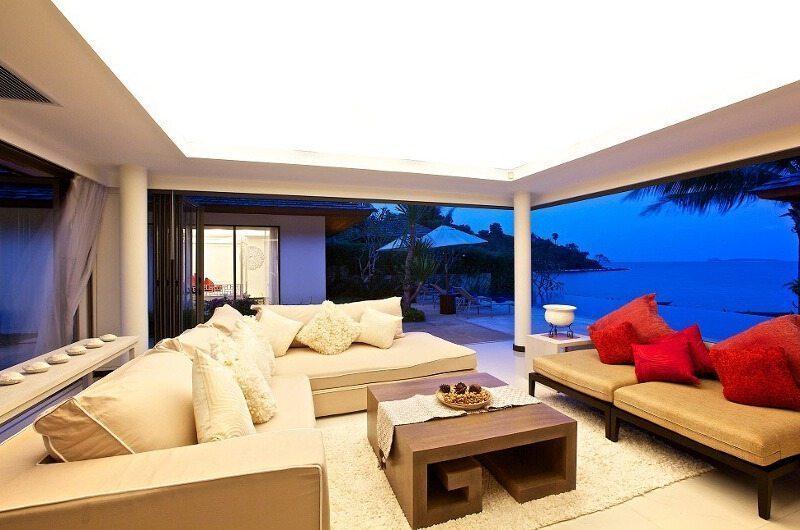 Baan Ban Buri Living Room  Koh Samui, Thailand