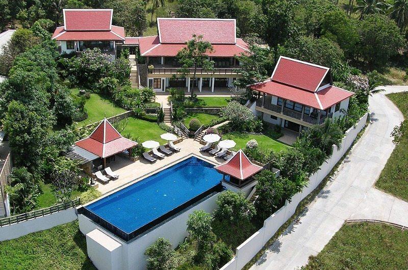 Baan Kinaree Bird's Eye View| Koh Samui, Thailand
