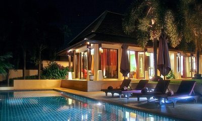Bacaya Swimming Pool  Koh Samui, Thailand
