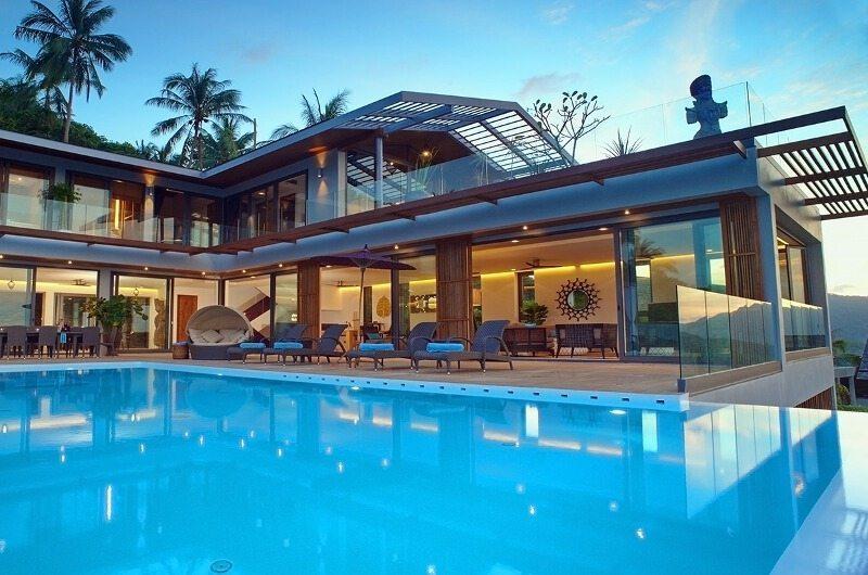 Crystal Blue Pool Side | Koh Samui, Thailand