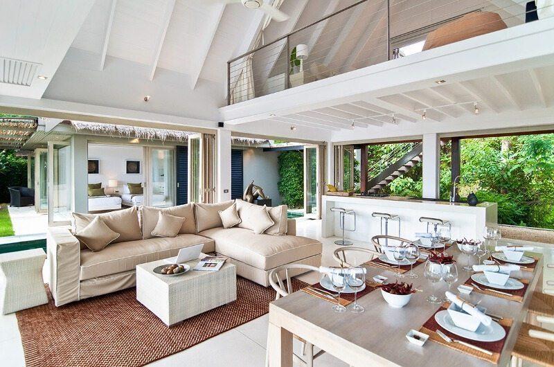 The Headland Villa 4 Living And Dining Room| Koh Samui, Thailand
