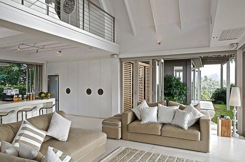The Headland Villa 5 Living Room| Koh Samui, Thailand