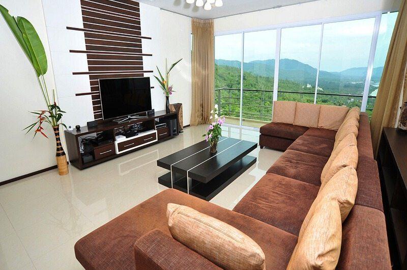 Villa Akira Living Room| Koh Samui, Thailand