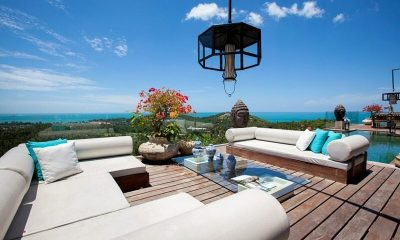 Villa Belle Outdoor Seating |Koh Samui, Thailand