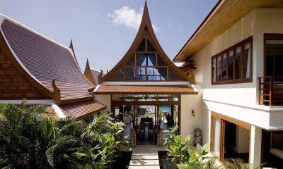 Villa Haineu Entrance|Koh Samui, Thailand