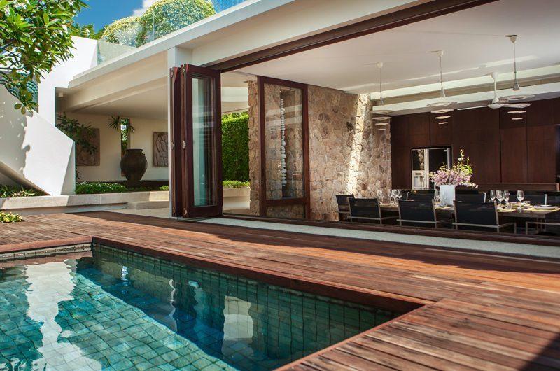 Villa Hin Samui Dining Area with Pool View   Bophut, Koh Samui