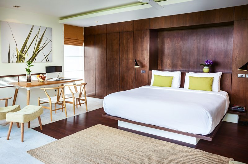 Villa Hin Samui Bedroom with Study Table   Bophut, Koh Samui