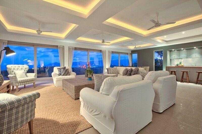 Villa Kohia Living Room|Koh Samui, Thailand