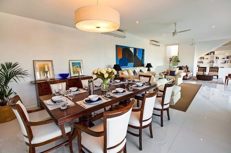 Villa Mullion Cove Dining Room|Koh Samui, Thailand