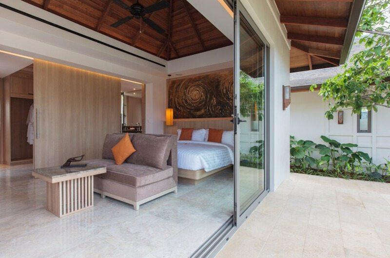 Villa Sila Bedroom and Balcony | Koh Samui, Thailand