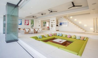 Villa Splash Indoor Living Area | Nathon, Koh Samui