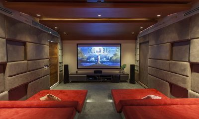 Villa Splash Cinema Room | Nathon, Koh Samui