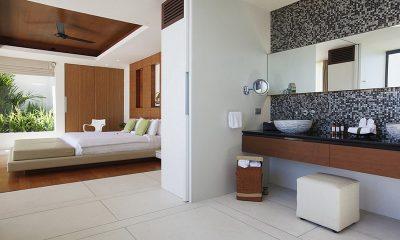 Villa Splash Bedroom and En-suite Bathroom | Nathon, Koh Samui