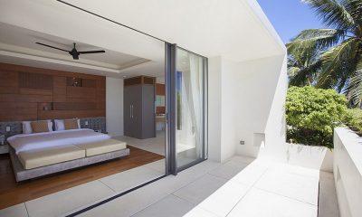 Villa Splash Bedroom and Balcony | Nathon, Koh Samui