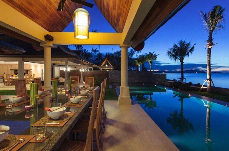 Villa Wayu Dining Room  Koh Samui, Thailand