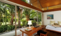 Baan Taley Rom Bedroom with Study Table | Phuket, Thailand