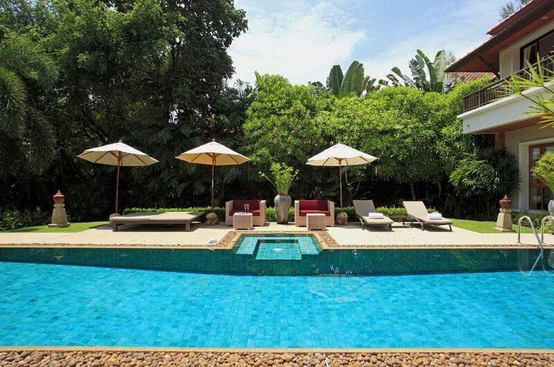 Laguna Waters Pool Side|Phuket, Thailand