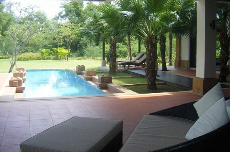 Villa Samorna Pool Side Seating | Phuket, Thailand