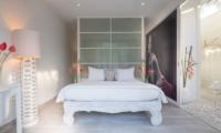 Pure Villa Bali Bedroom with Lamps | Canggu, Bali
